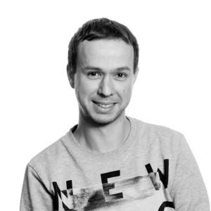 K. van der Brande zwart-wit